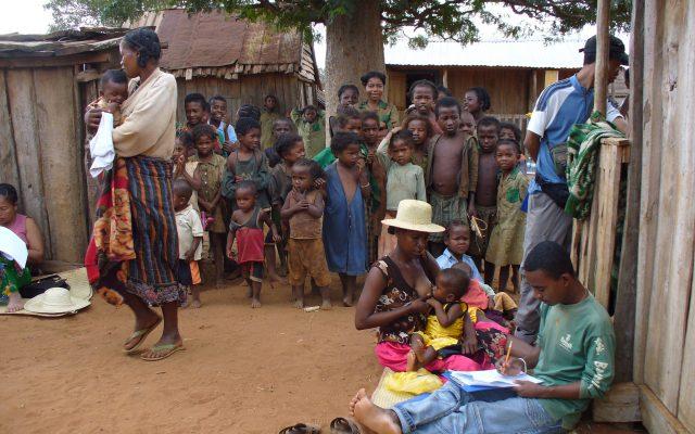 Offre alimentaire sur le marché à Madagascar @Gret