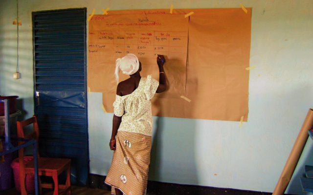 Suivi de soins au Burkina Faso ©Gret
