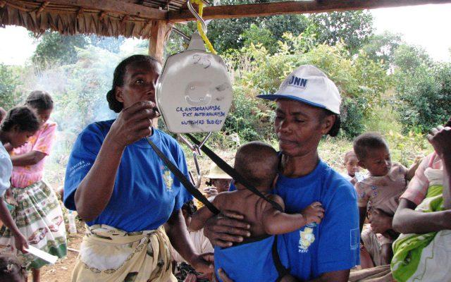 Pesée à Madagascar, ©Gret