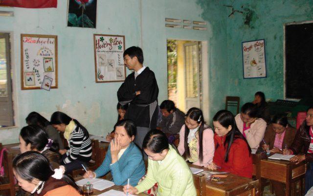 Formation de volontaires d'une association de femmes au Vietnam ©Gret