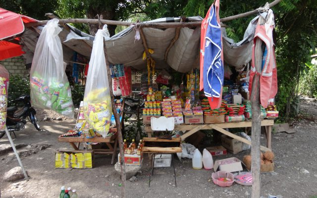 Diagnosis surveys, market in Haiti @Gret