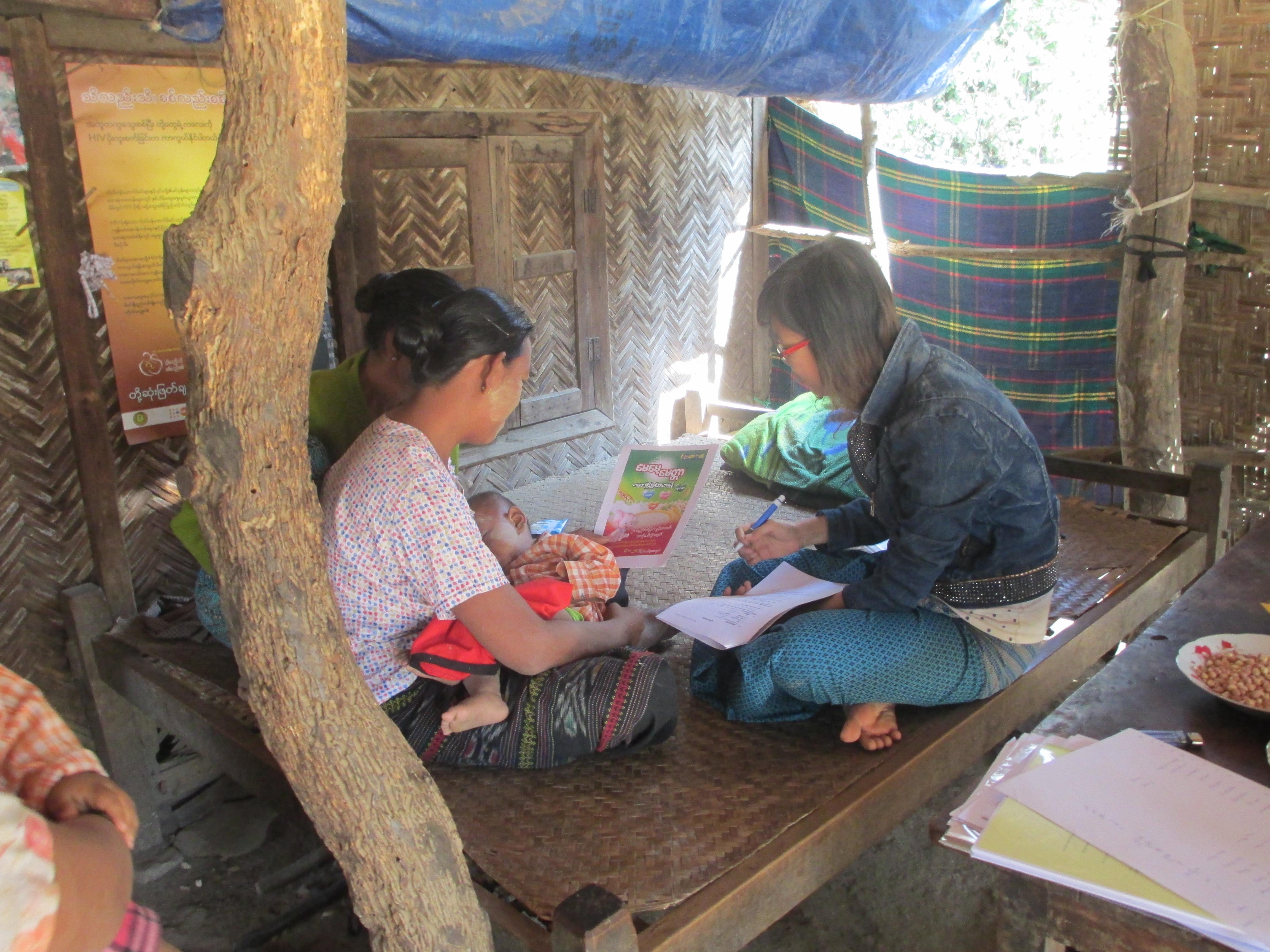 Diagnostic au Myanmar ©Gret