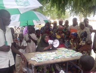 Sensibilisation au Niger ©Gret